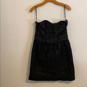 URBAN OUTFITTERS SLEEVELESS BLACK DRESS SIZE 10